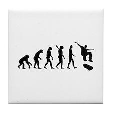 Evolution Skateboarding Tile Coaster