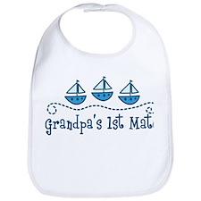 Grandpas 1st Mate Bib