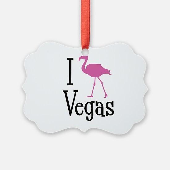 I Love Vegas Ornament