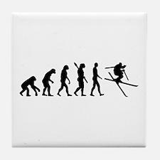 Evolution Ski Tile Coaster