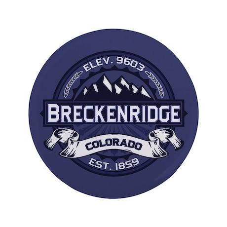 """Breckenridge Midnight 3.5"""" Button"""