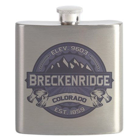 Breckenridge Midnight Flask