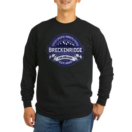 Breckenridge Midnight Long Sleeve Dark T-Shirt