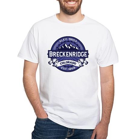 Breckenridge Midnight White T-Shirt