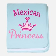 Mexican Princess baby blanket
