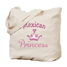 Mexican Princess Tote Bag