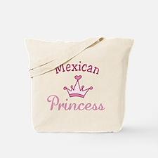 Mexican Princess Tote Bag