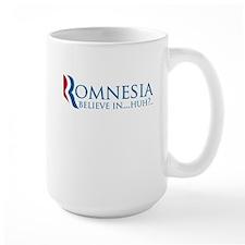 romnesia believe in huh definition Mug