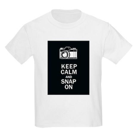 Keep Calm And Snap On Kids Light T-Shirt