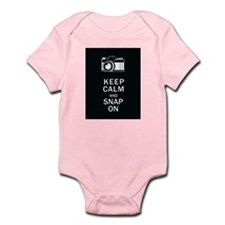 Keep Calm And Snap On Infant Bodysuit