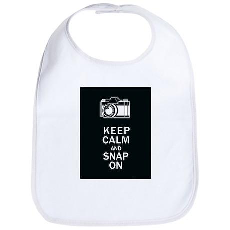 Keep Calm And Snap On Bib
