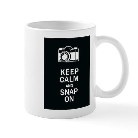 Keep Calm And Snap On Mug