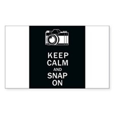 Keep Calm And Snap On Decal