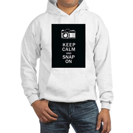 Keep Calm And Snap On Hooded Sweatshirt