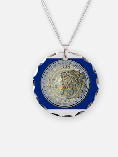New Hampshire Quarter 2000 Necklace