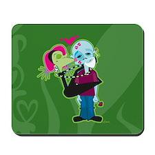 Zombie Valentine Mousepad
