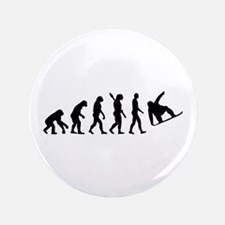 "Evolution Snowboard 3.5"" Button"