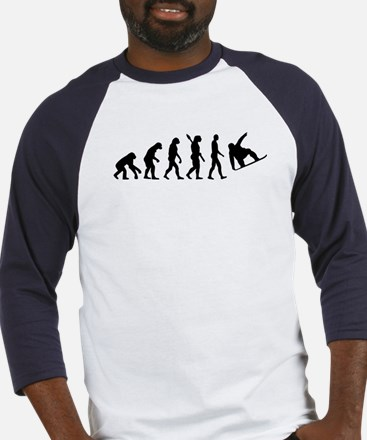 Evolution Snowboard Baseball Jersey