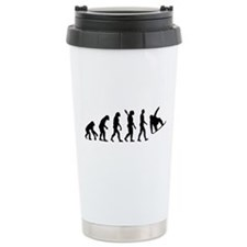 Evolution Snowboard Stainless Steel Travel Mug
