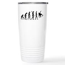 Evolution Snowboard Thermos Mug