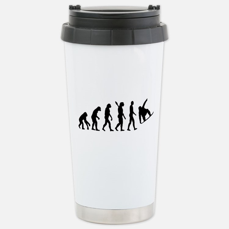 Evolution Snowboard Travel Mug