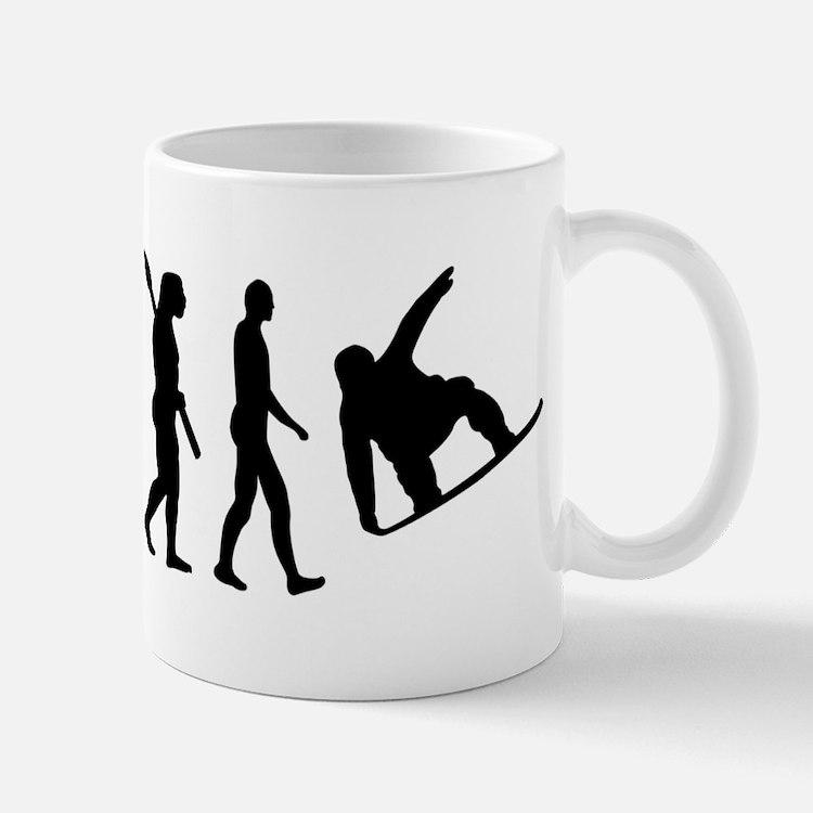 Evolution Snowboard Mug