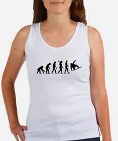 Evolution Snowboard Women's Tank Top