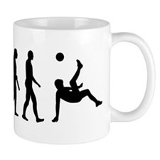 Evolution soccer Small Mugs