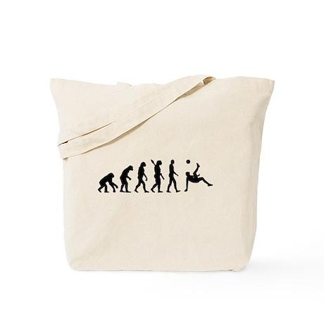 Evolution soccer Tote Bag