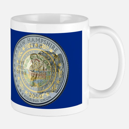 New Hampshire Quarter 2000 Mugs