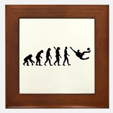 Evolution soccer Framed Tile