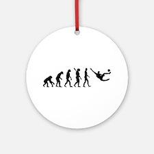 Evolution soccer Ornament (Round)