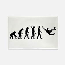 Evolution soccer Rectangle Magnet (100 pack)