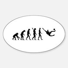Evolution soccer Bumper Stickers
