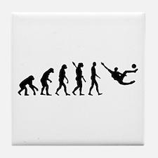 Evolution soccer Tile Coaster