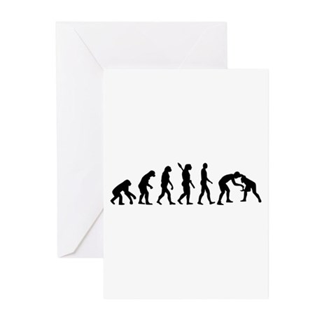Evolution Wrestling Greeting Cards (Pk of 20)