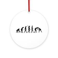 Evolution Wrestling Ornament (Round)