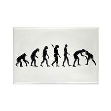 Evolution Wrestling Rectangle Magnet
