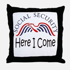 SS Here I Come.png Throw Pillow