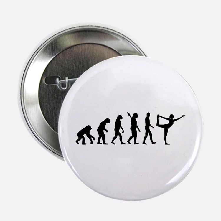"Evolution Yoga 2.25"" Button (10 pack)"