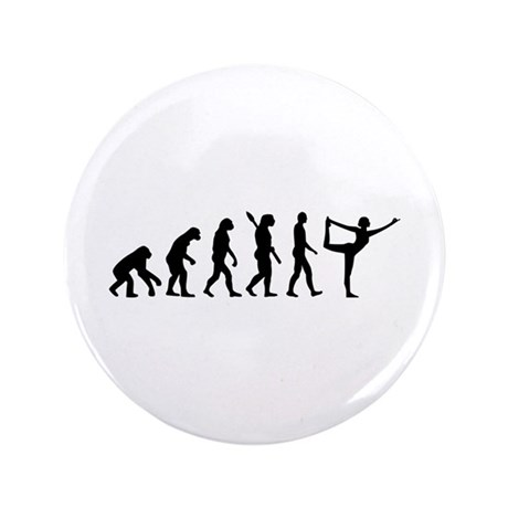 "Evolution Yoga 3.5"" Button (100 pack)"