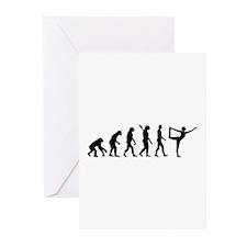 Evolution Yoga Greeting Cards (Pk of 10)