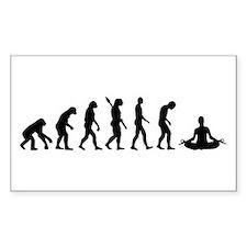 Evolution Yoga Decal