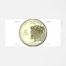 New Hampshire Quarter 2000 Basic Aluminum License