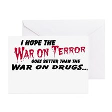 War on terror/High as a kite Greeting Cards (Packa