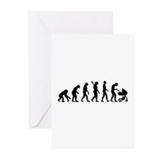 Evolution Baby parents Greeting Cards (Pk of 20)