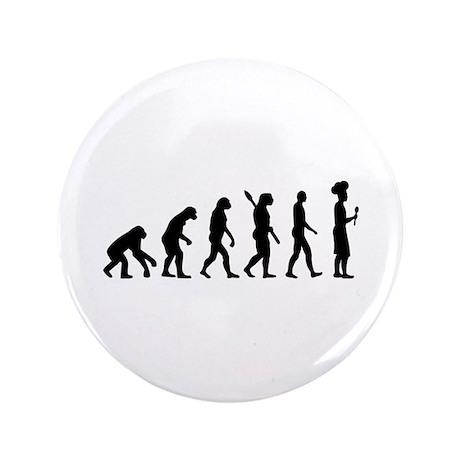 "Evolution cook chef 3.5"" Button"