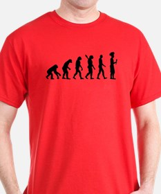 Evolution cook chef T-Shirt