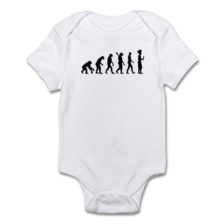 Evolution cook chef Infant Bodysuit