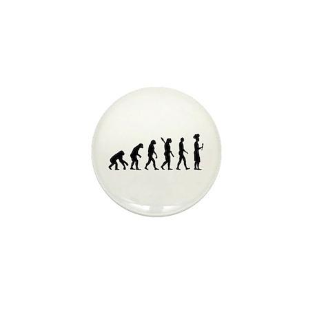 Evolution cook chef Mini Button